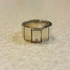 Silver 925 statement ring